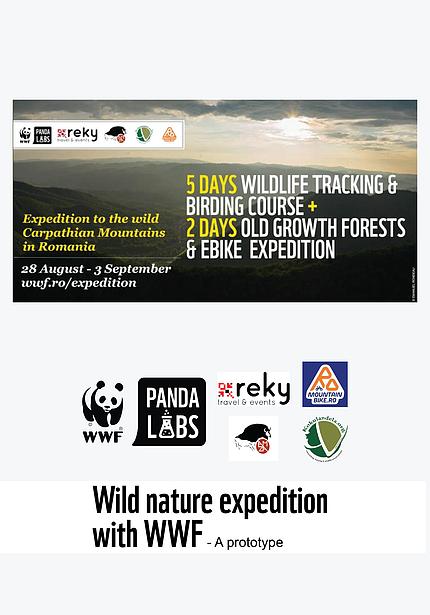 WWF Panda Labs Wild nature expedition
