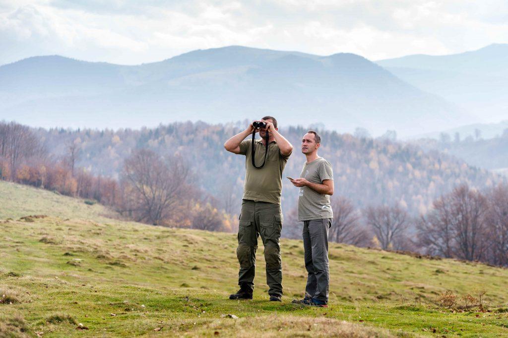 Activități de monitorizare Rangeri ©Bogdan Comănescu