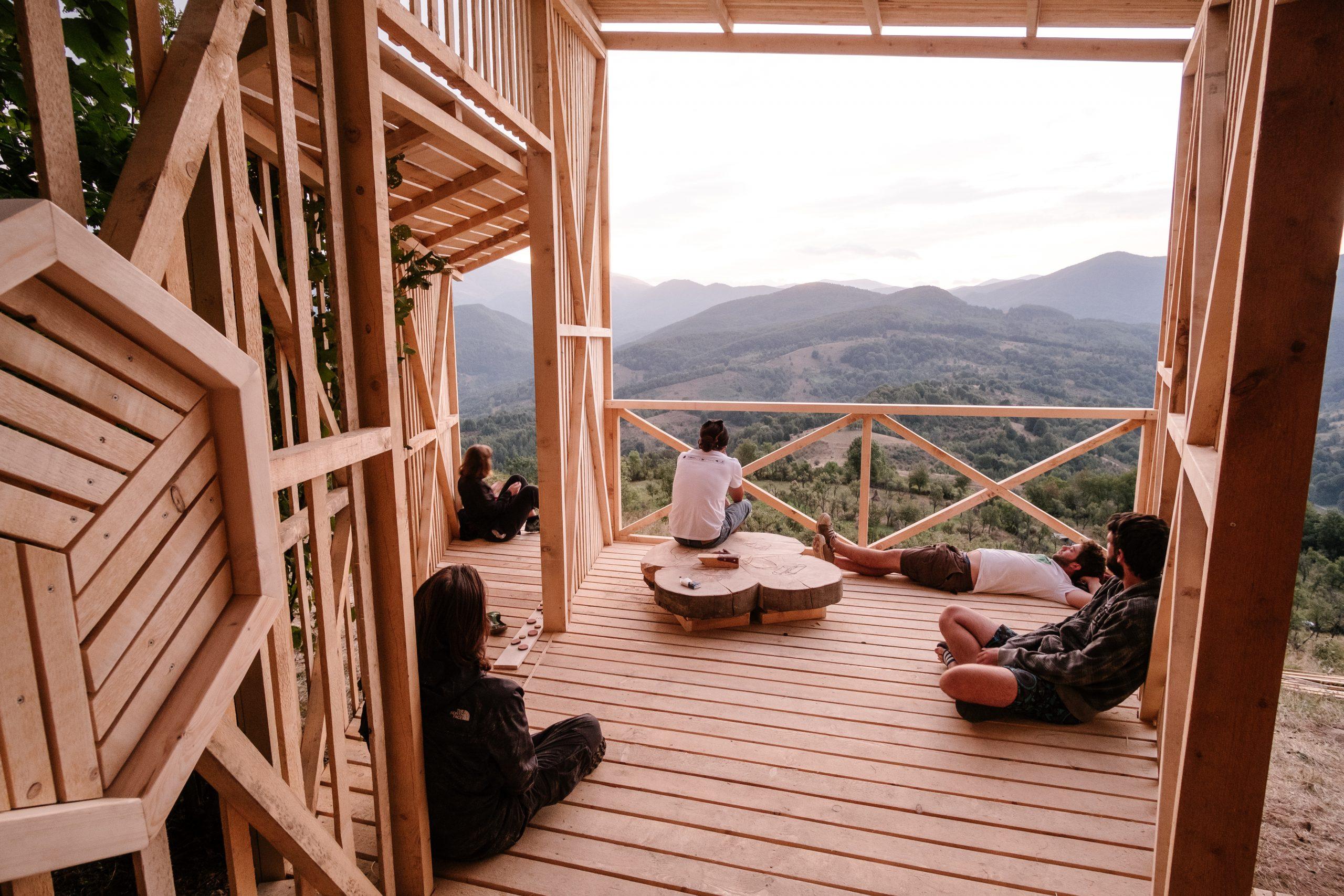 Observator de peisaj Tara, Măgura Zimbrilor©Bogdan Comănescu